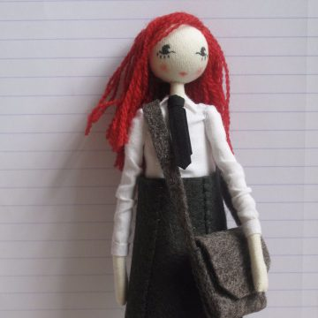 Dolls by Sarah Strachan – Devon-based puppet-maker, crafter, artist, designer, performer