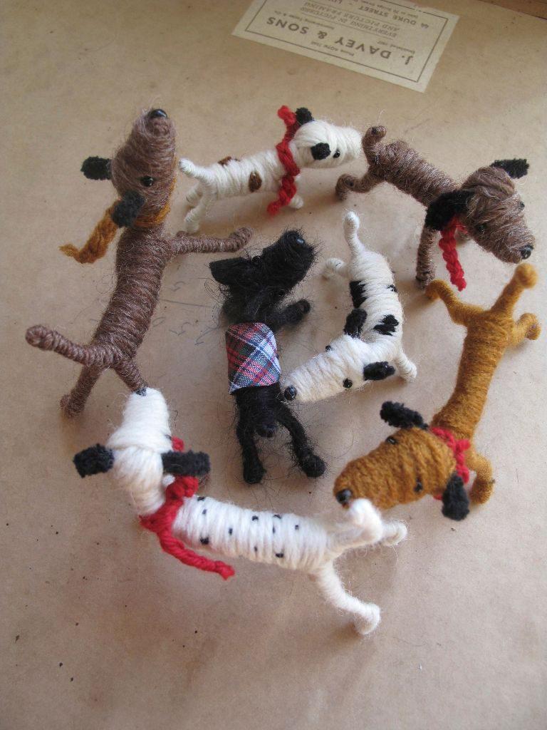 Dogs by Sarah Strachan – Devon-based puppet-maker, crafter, artist, designer, performer