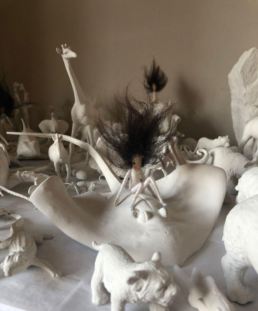 Ghost puppet 2 environmental art