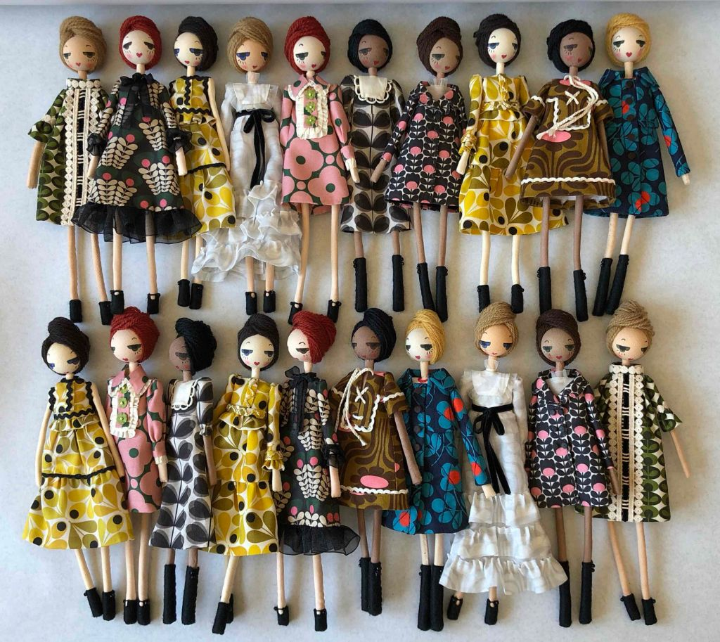 Group of Orla Dolls puppets