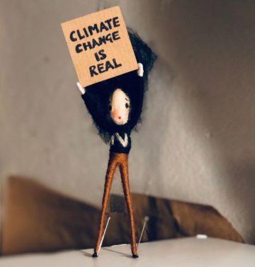 Mini Activist puppet