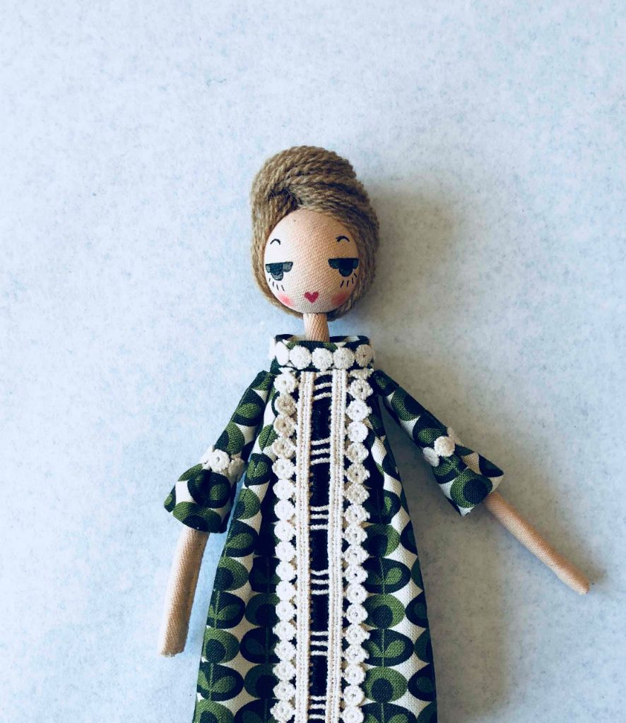 Orla doll detail puppet